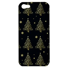 Christmas Tree   Pattern Apple Iphone 5 Hardshell Case by Valentinaart