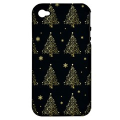 Christmas Tree   Pattern Apple Iphone 4/4s Hardshell Case (pc+silicone) by Valentinaart