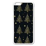 Christmas tree - pattern Apple iPhone 6 Plus/6S Plus Enamel White Case Front