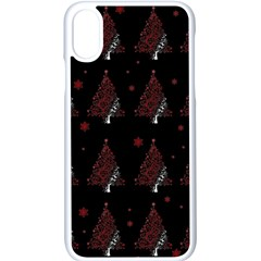 Christmas Tree   Pattern Apple Iphone X Seamless Case (white) by Valentinaart