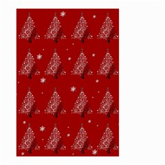 Christmas Tree   Pattern Small Garden Flag (two Sides)