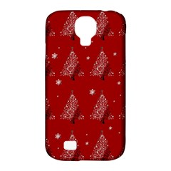 Christmas Tree   Pattern Samsung Galaxy S4 Classic Hardshell Case (pc+silicone) by Valentinaart