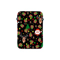Santa And Rudolph Pattern Apple Ipad Mini Protective Soft Cases