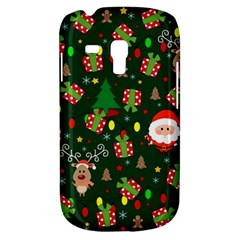 Santa And Rudolph Pattern Galaxy S3 Mini by Valentinaart