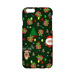 Santa And Rudolph Pattern Apple Iphone 6/6s Hardshell Case