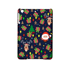 Santa And Rudolph Pattern Ipad Mini 2 Hardshell Cases by Valentinaart