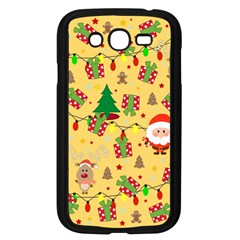 Santa And Rudolph Pattern Samsung Galaxy Grand Duos I9082 Case (black) by Valentinaart
