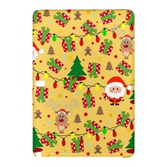Santa And Rudolph Pattern Samsung Galaxy Tab Pro 12 2 Hardshell Case by Valentinaart