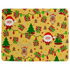 Santa And Rudolph Pattern Jigsaw Puzzle Photo Stand (rectangular)