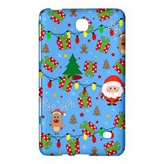 Santa And Rudolph Pattern Samsung Galaxy Tab 4 (7 ) Hardshell Case  by Valentinaart