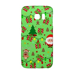 Santa And Rudolph Pattern Galaxy S6 Edge by Valentinaart