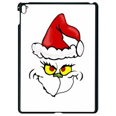 Grinch Apple Ipad Pro 9 7   Black Seamless Case by Valentinaart