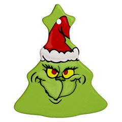Grinch Christmas Tree Ornament (two Sides)