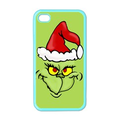 Grinch Apple Iphone 4 Case (color)