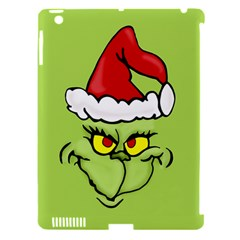 Grinch Apple Ipad 3/4 Hardshell Case (compatible With Smart Cover) by Valentinaart