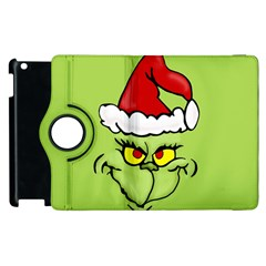 Grinch Apple Ipad 3/4 Flip 360 Case