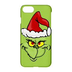 Grinch Apple Iphone 7 Hardshell Case by Valentinaart