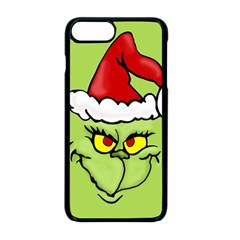 Grinch Apple Iphone 8 Plus Seamless Case (black) by Valentinaart