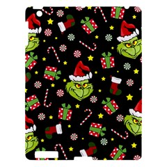 Grinch Pattern Apple Ipad 3/4 Hardshell Case by Valentinaart
