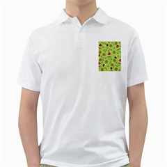 Grinch Pattern Golf Shirts