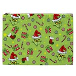 Grinch pattern Cosmetic Bag (XXL)  Front