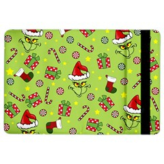 Grinch Pattern Ipad Air 2 Flip by Valentinaart