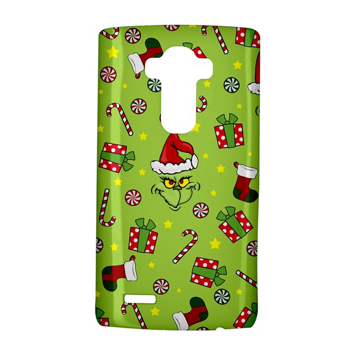 Grinch pattern LG G4 Hardshell Case