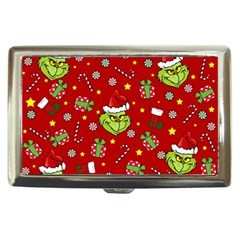 Grinch Pattern Cigarette Money Cases