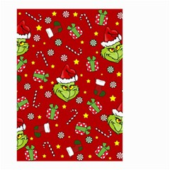 Grinch Pattern Small Garden Flag (two Sides)