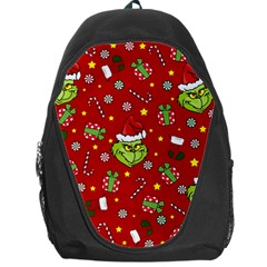 Grinch Pattern Backpack Bag