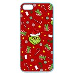 Grinch pattern Apple Seamless iPhone 5 Case (Color) Front