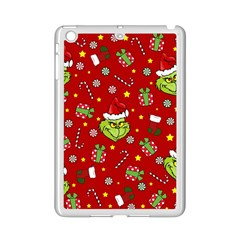 Grinch Pattern Ipad Mini 2 Enamel Coated Cases by Valentinaart