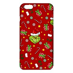 Grinch Pattern Iphone 6 Plus/6s Plus Tpu Case by Valentinaart