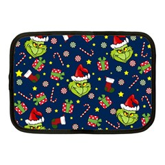 Grinch Pattern Netbook Case (medium)