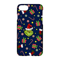 Grinch Pattern Apple Iphone 8 Hardshell Case