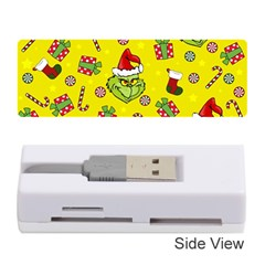 Grinch Pattern Memory Card Reader (stick)