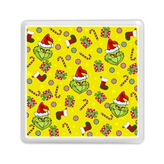 Grinch Pattern Memory Card Reader (square)