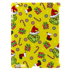 Grinch Pattern Apple Ipad 3/4 Hardshell Case (compatible With Smart Cover)