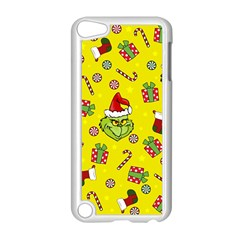 Grinch Pattern Apple Ipod Touch 5 Case (white) by Valentinaart