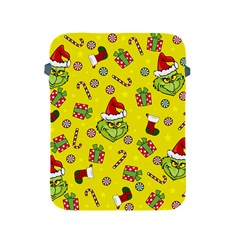 Grinch Pattern Apple Ipad 2/3/4 Protective Soft Cases by Valentinaart