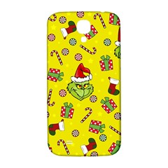 Grinch Pattern Samsung Galaxy S4 I9500/i9505  Hardshell Back Case by Valentinaart