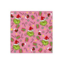 Grinch Pattern Satin Bandana Scarf