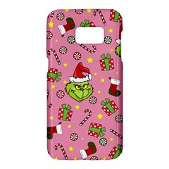 Grinch Pattern Samsung Galaxy S7 Hardshell Case