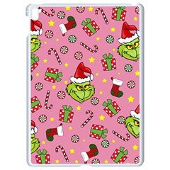 Grinch Pattern Apple Ipad Pro 9 7   White Seamless Case by Valentinaart