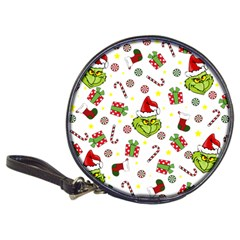 Grinch Pattern Classic 20 Cd Wallets