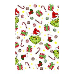 Grinch Pattern Shower Curtain 48  X 72  (small)  by Valentinaart