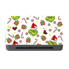 Grinch Pattern Memory Card Reader With Cf by Valentinaart