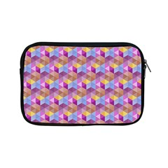 Hexagon Cube Bee Cell Pink Pattern Apple Ipad Mini Zipper Cases