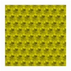 Hexagon Cube Bee Cell  Lemon Pattern Medium Glasses Cloth