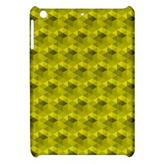 Hexagon Cube Bee Cell  Lemon Pattern Apple Ipad Mini Hardshell Case